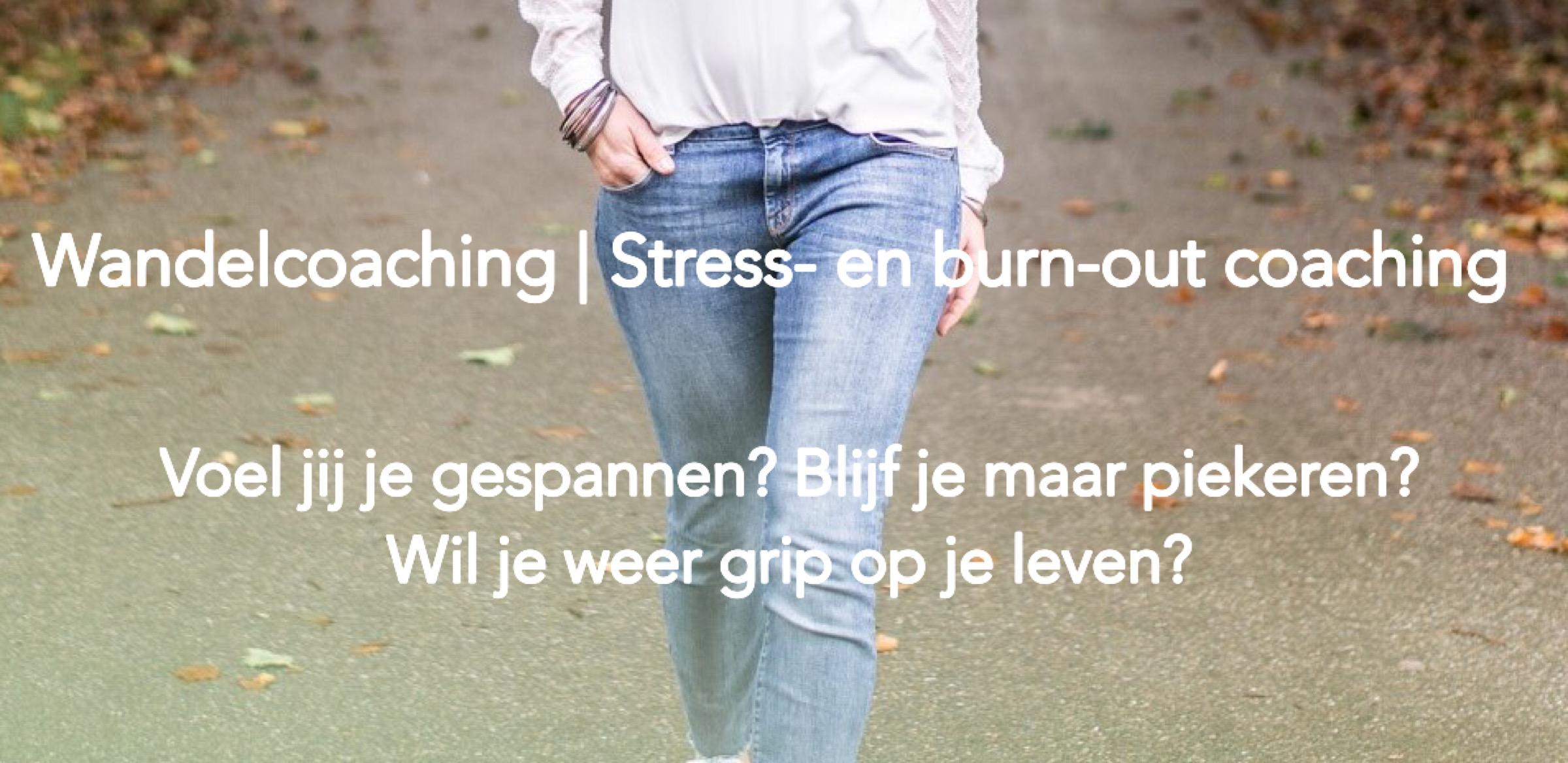 Wandelcoaching | Stress- en burn-out coaching